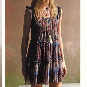Anthropologie Lili's Closet Sibylline ruffle dress